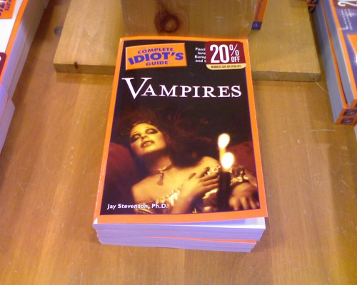 idiots guide to vampires